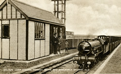 Kent, Romney, Hythe and Dymchurch Railway, Holiday Camp Station